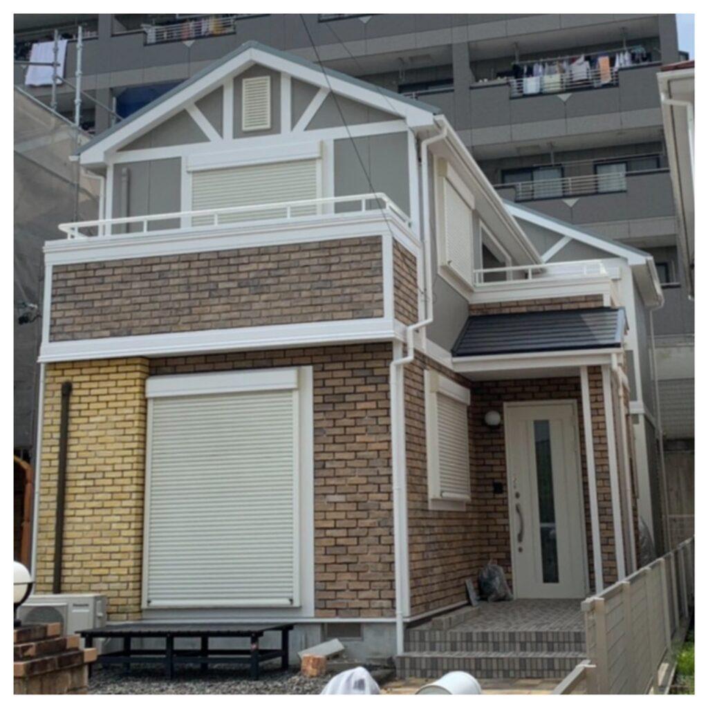 外壁屋根塗装工事/コーキング打ち替え工事