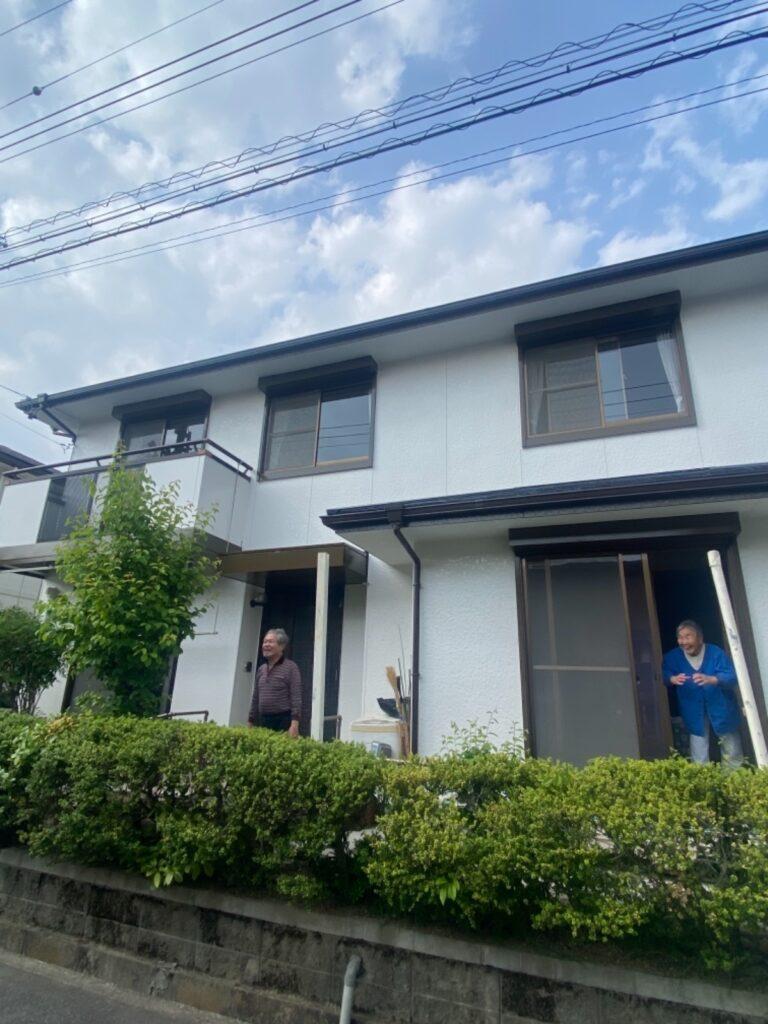 外壁屋根塗装工事/コーキング打ち替え
